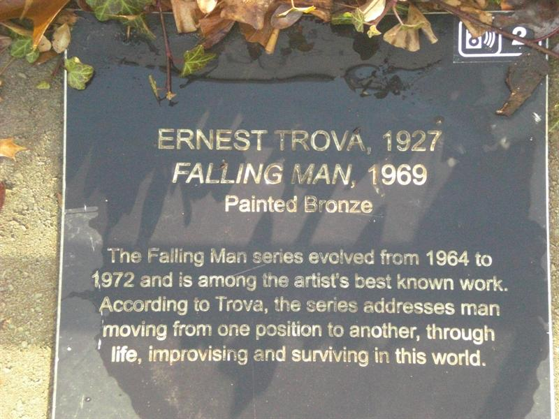 Falling Man plaque