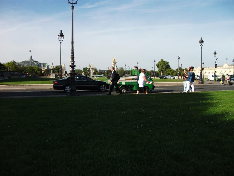 View to Champs de Elysees.