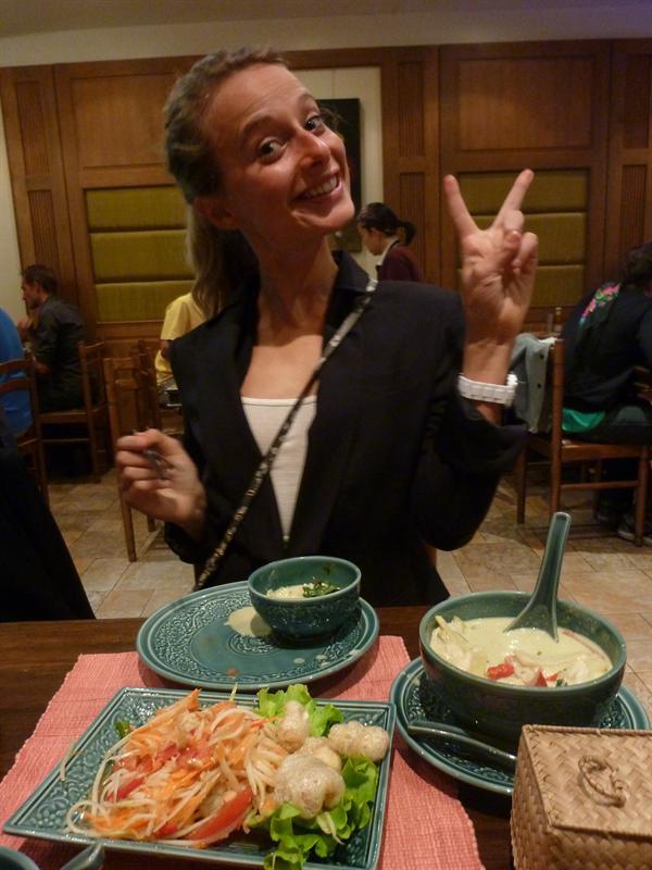 so excited for thai food! 9/18 (name:Lao Siam, Location:Paris)
