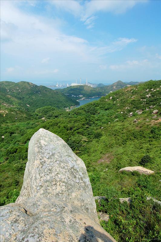 靈龜石遠望發電廠