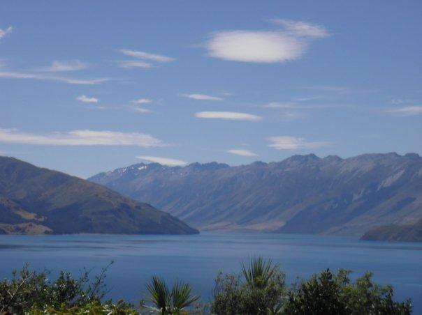 Views weren't bad on way from Franz Josef to Wanaka!