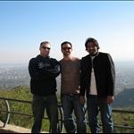 Braden , Rhett and ME at Margilla Hill view ISB