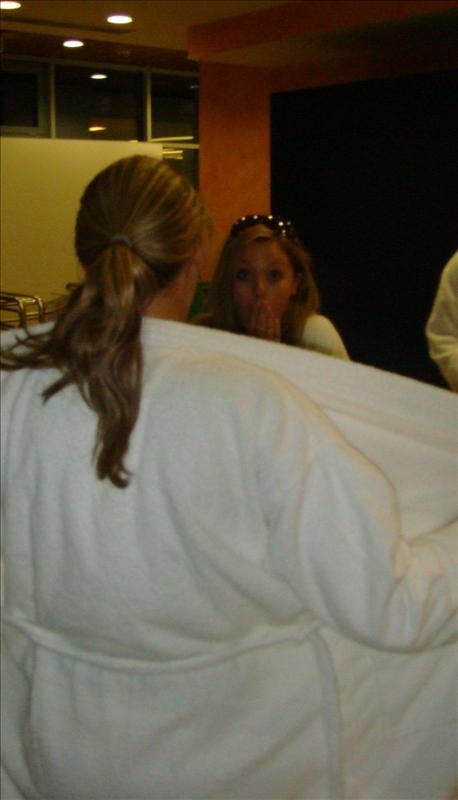 toby close your robe!