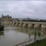 We walked into Cordoba across this bridge.