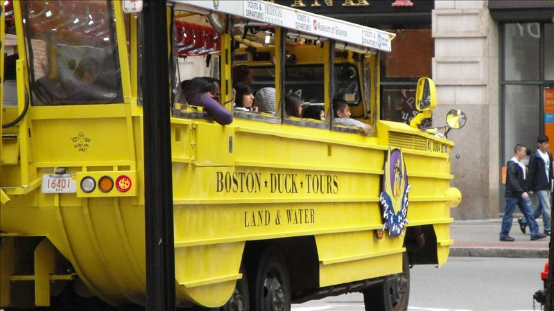 Boston's world famous Duck Tours