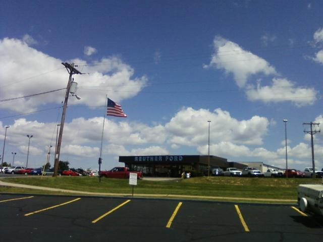 a car dealership in Arnold, it was a great day to be alive here with low humidity