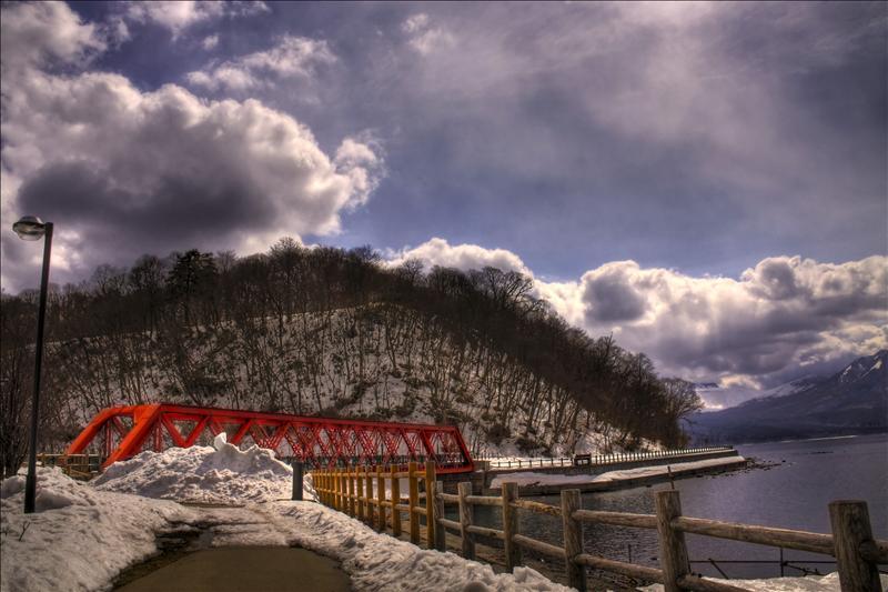Lake Shikotsu Bridge