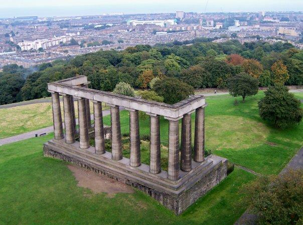 EDINBURGH, CALTON HILL, SEPT 2008