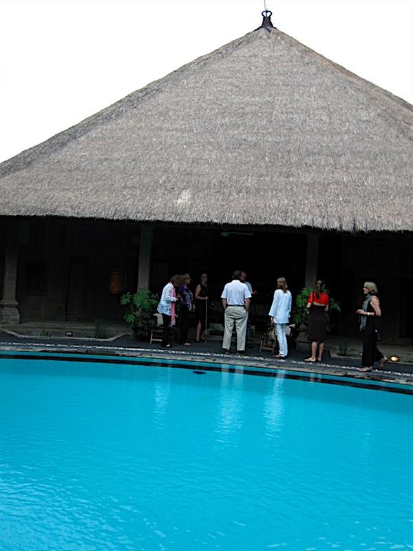 Ronald Stone's villa.