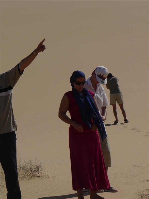 Siwa - Woestijn Fay en Bart