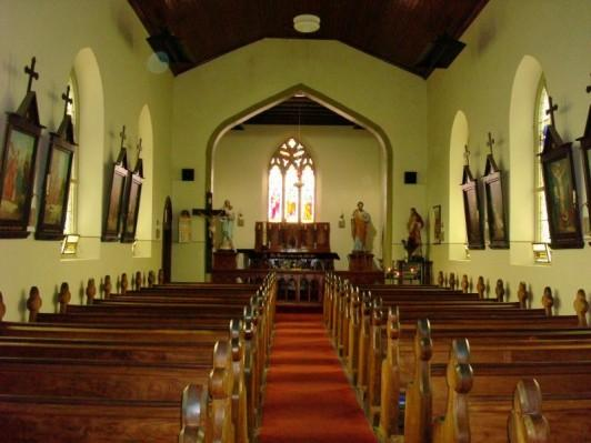 Oldest catholic church in australia