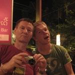 Dave & Nic at  Khop Chai Deu Restaurant