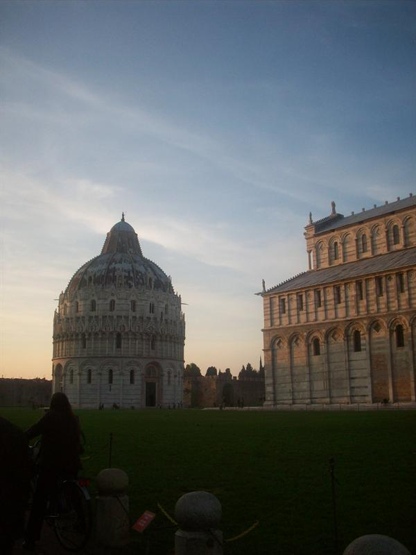 Not the tower of pisa