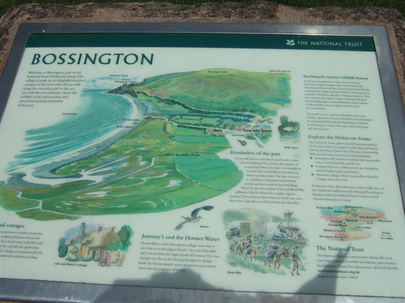 Walk around Bossington Hill