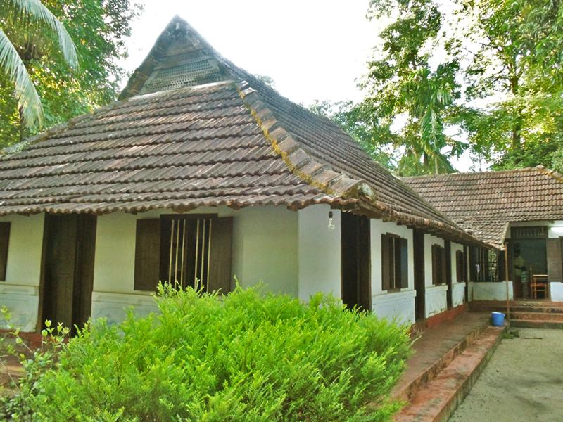 Ancient house in Kerala