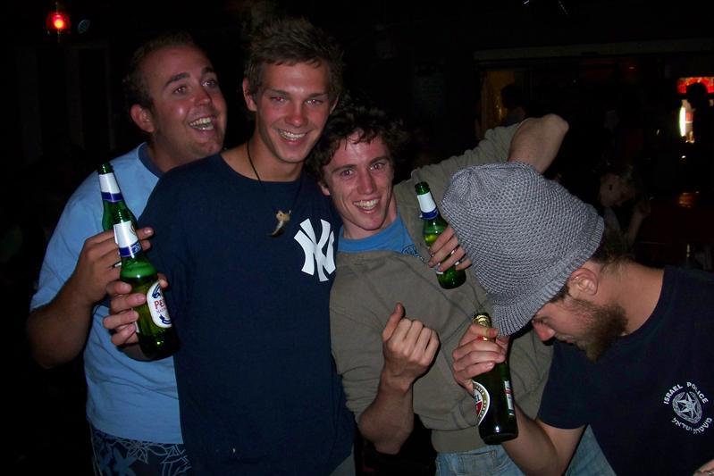 Jereon, Casper, Wouter & Matt