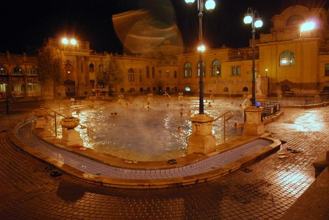 Szechenyi Baths was one of our high points - after two weeks of travelling we finally felt clean and relaxed again