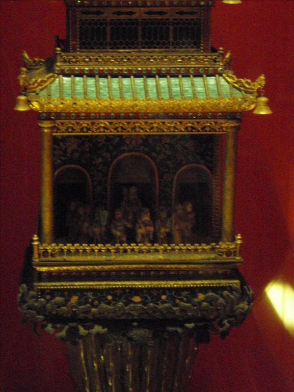 clock, forbidden palace