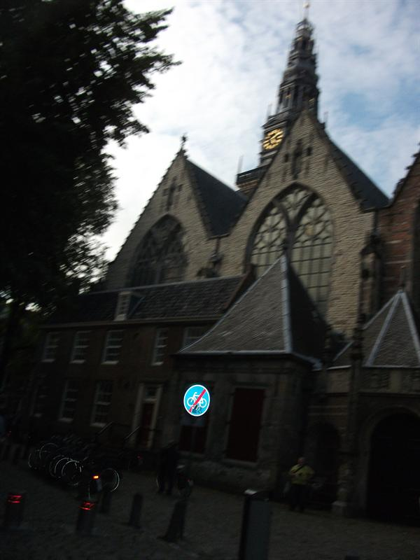 A church in Amsterdam,