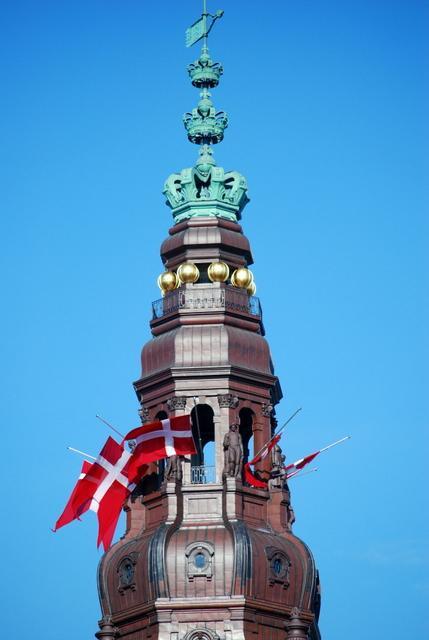 Flags at half mast