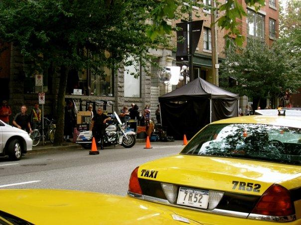 an NYC Cab in Vancouver?
