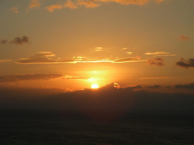 關山蓮莊看日落