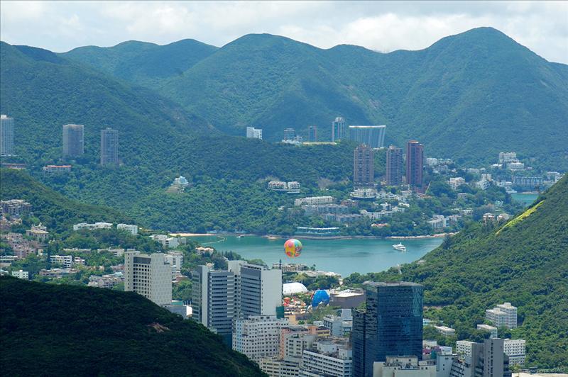 壽臣山及深水灣一帶