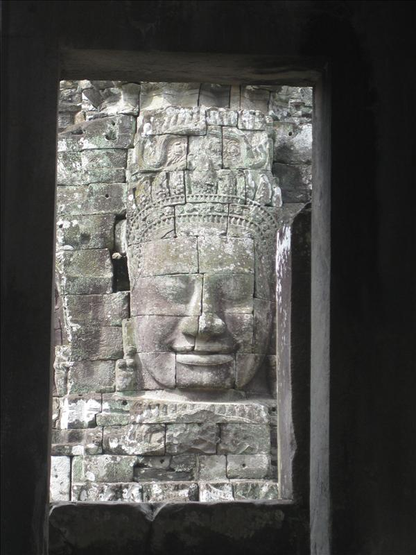 Bayon's watching you from everywhere!