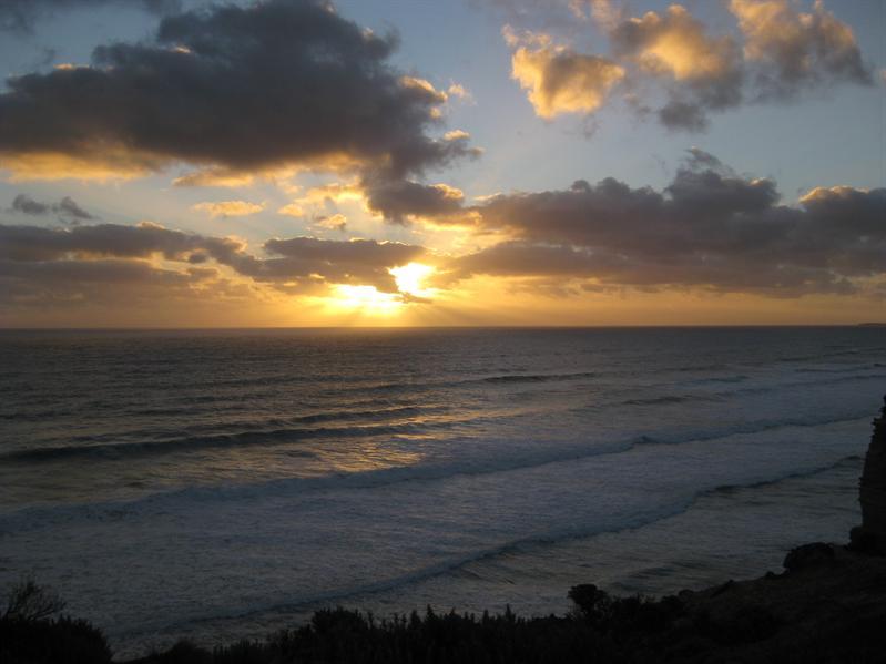 Sunset at The 12 Apostles