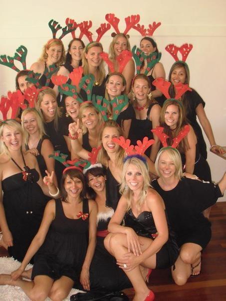 Sydney reindeer/santa pub crawl!