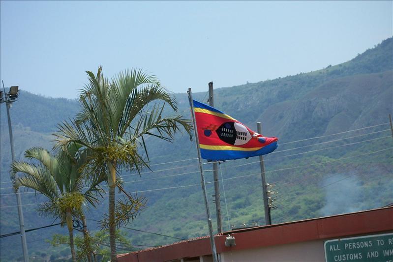 Swaziland flag / drapeau du Swaziland