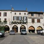 .. an attractive medieval bastide town....