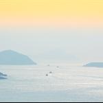 遠眺南堂海峽 Tathong Channel