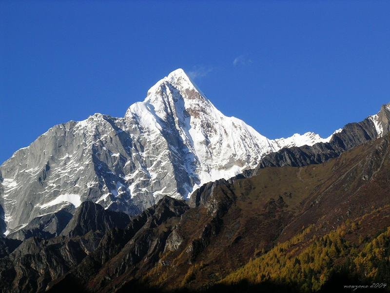Mountain  Four Sisters (Siguniangshan) 四姑娘山
