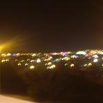 回家時路上的夜景
