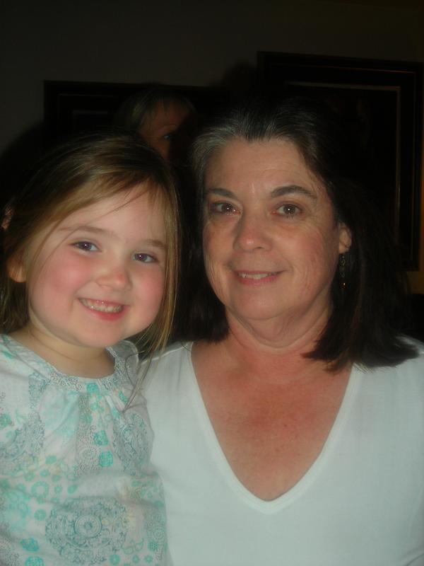 my aunt Laurie and Emma