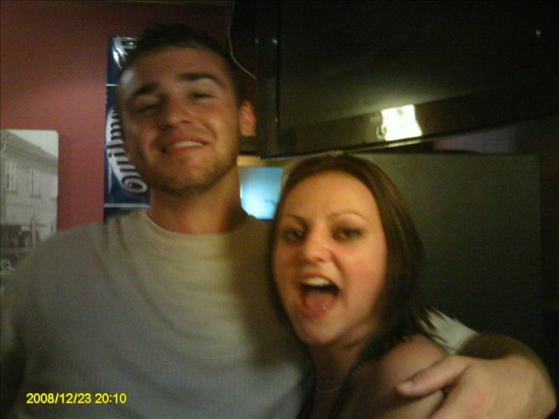 First Night out Me and Josh take 4