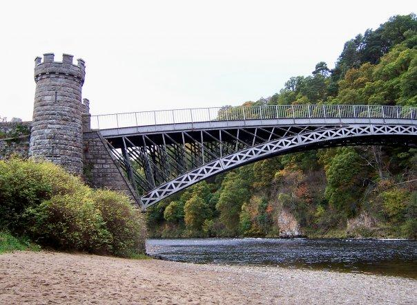 TELFORD BRIDGE, CRAIGELLACHIE, OCT 2007
