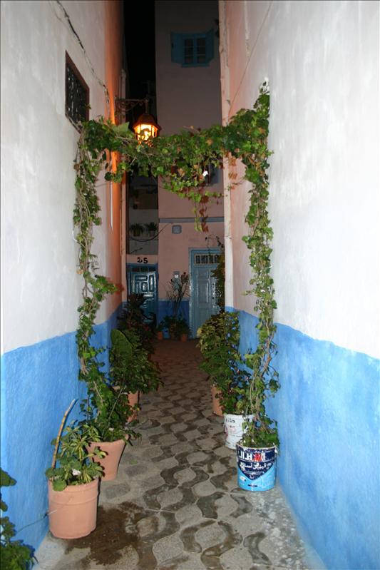 Asilah Medina alleyways...