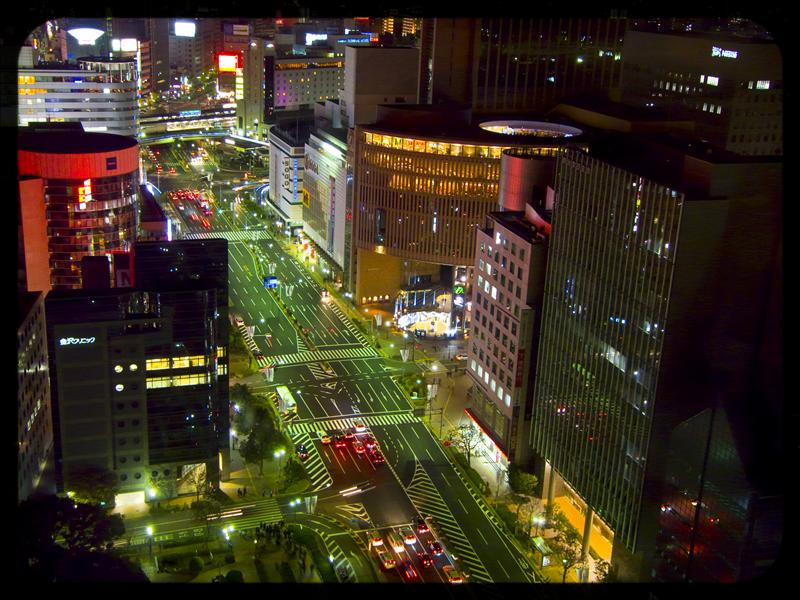 Kobe in the night!!!