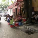 Typical street cafe - Hanoi