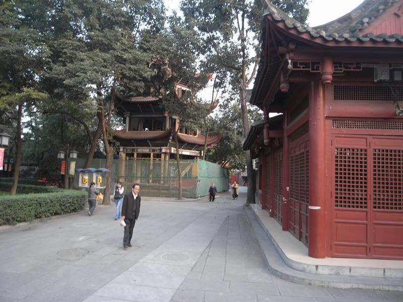 Wenshu Temple  (Manjusri Bodhisatva) monastery