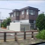 札幌火車窗外2