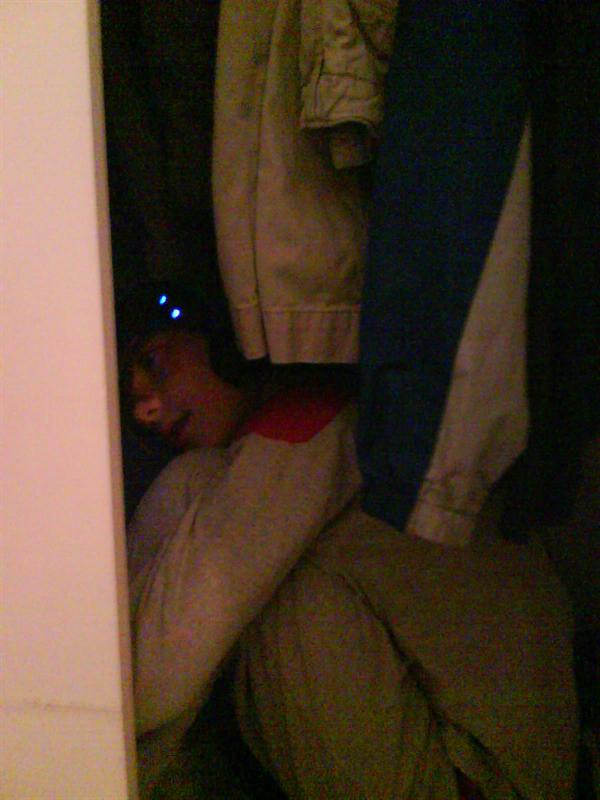 Jerome...in the closet...