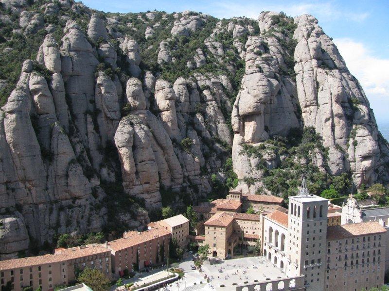 Montserrat monastery ....