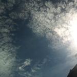 話說...........這是險些露臉的太陽公公!!!