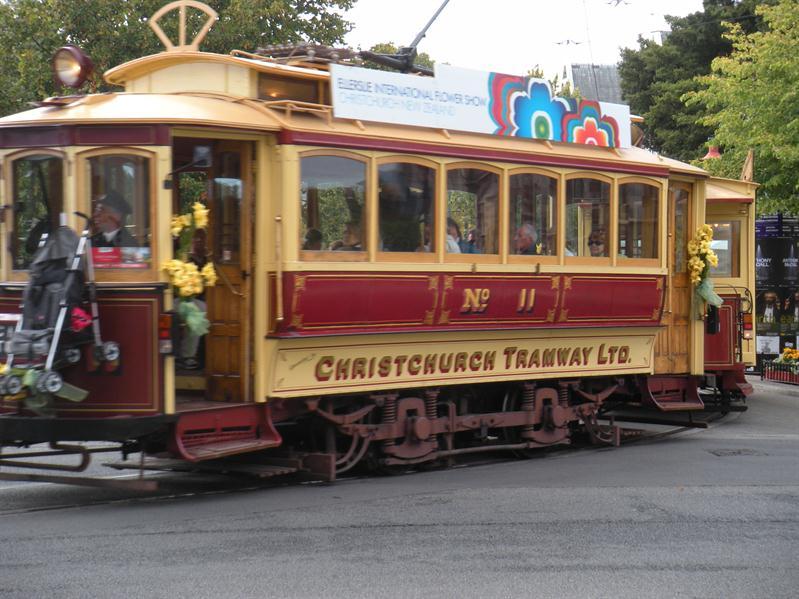 Tram at Christchurch