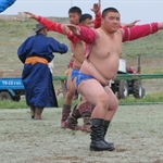 Naadam Festival in Lun, Mongolia, 8.7.2010