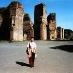 Rome,Foro Bath,Italy