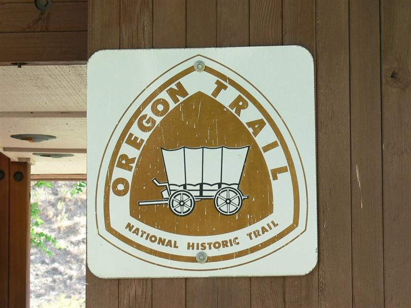 Ore. Trail Sign